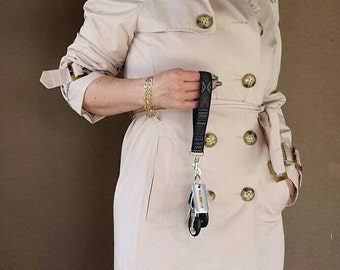 "Wrist Strap, Wristlet Strap, Wrislet Keychain, Replacement Key Chain, Replacement Strap, Purse Strap, 1"" wide"