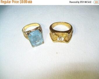 50% OFF Vintage 18 KT HGE Rings lot
