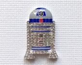R2D2 Star Wars Rhinestone Needle Minder