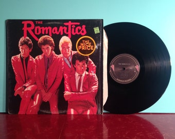 THE ROMANTICS Self Titled What I Like About You Vinyl Record Album LP 1980 In Shrink With New Wave Power Pop Very Good + Condition Vintage