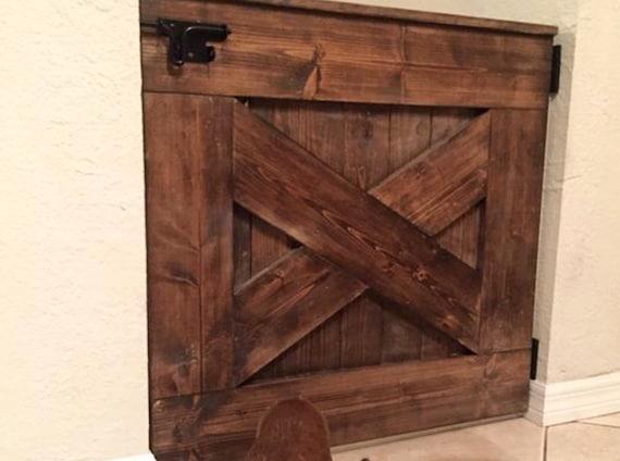 how to build a barn door baby gate