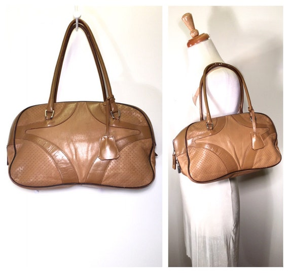 brown prada purse
