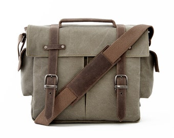 Trail Camera Bag / Messenger Bag /  Olive
