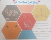 Hexagon Stickers - 'Gypsy Soul' - inkWELL Press Planner (Neopolitan - Tribal) Bound and A5 Sizes Available