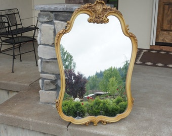 Mirror / French Provincial Mirror / Vintage Mirror / Shabby Chic Mirror
