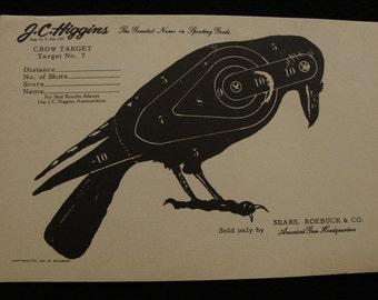 Vintage Crow Target no. 7 by J C Higgins