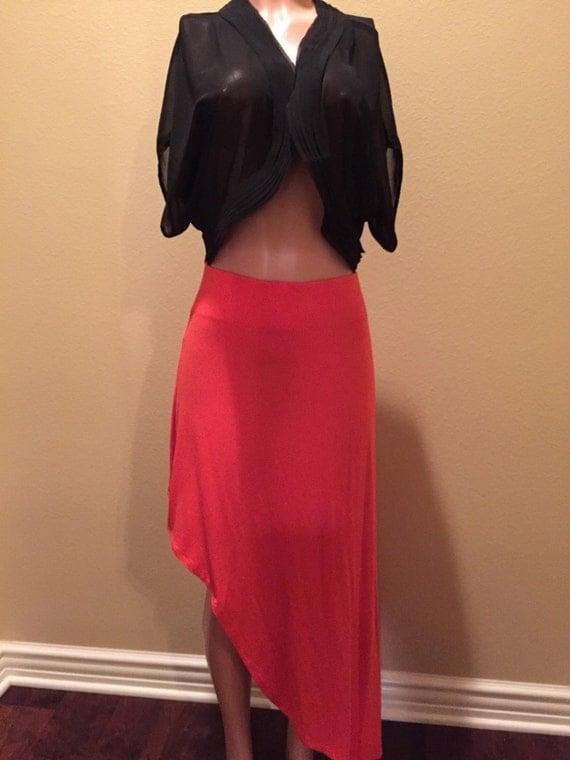 Hip Hop Maxi Skirt