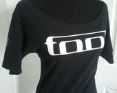 Tool ladies boatneck scoop neck fitted band shirt   XS S M L XL