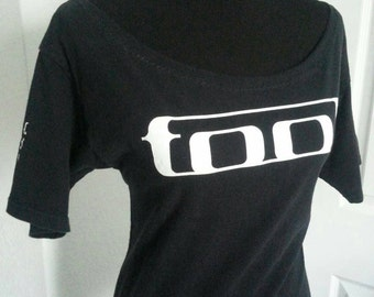 Tool ladies boatneck scoop neck fitted band shirt   Many sizes available