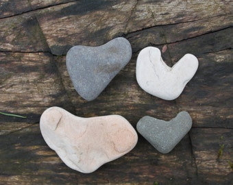 heart shaped pebbles hearts stones sea rocks craft tools supplies jewelry supply mosaic and art&craft (9)