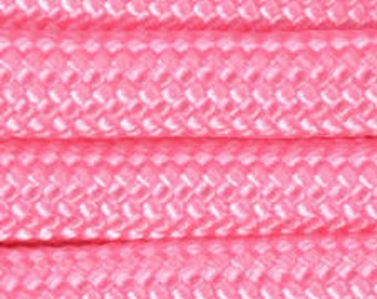 50 ft hank of Rose Pink550 Paracord
