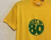 Class of 80 ~ Soft Vintage T-Shirt