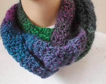 Scarf, Wool scarf, Blue scarf, Crochet scarf, Fashion scarf, Long scarf, Fashion scarf, Womens scarf, Teen scarf, Winter scarf, chunky scarf