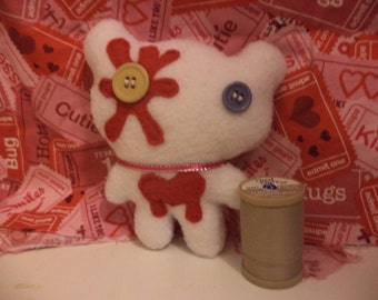 Mini Zombie Bear Plush
