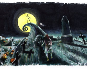 Nightmare Before Christmas - Jack's Lament Poster Print