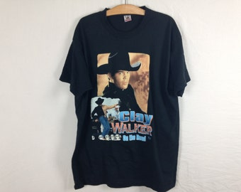 clay walker country music shirt size XL