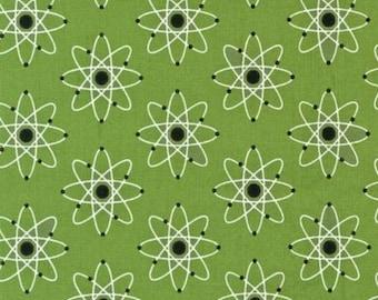 Mod Geek Atmosphere 14565-278 Green by Sarah Johnston for Robert Kaufman
