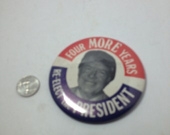 Vintage political Button : jimmy carter