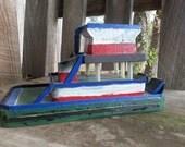 Handmade Spider Tug Boat