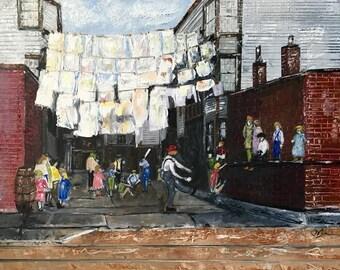 Laundry Day, Brooklyn, NY circa 1930's