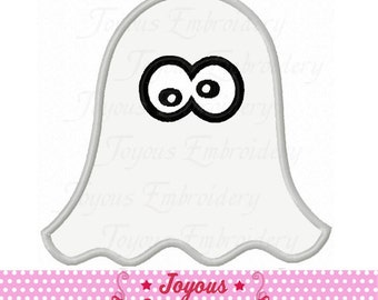 Instant Download Halloween Ghost Applique Machine Embroidery Design NO:2184