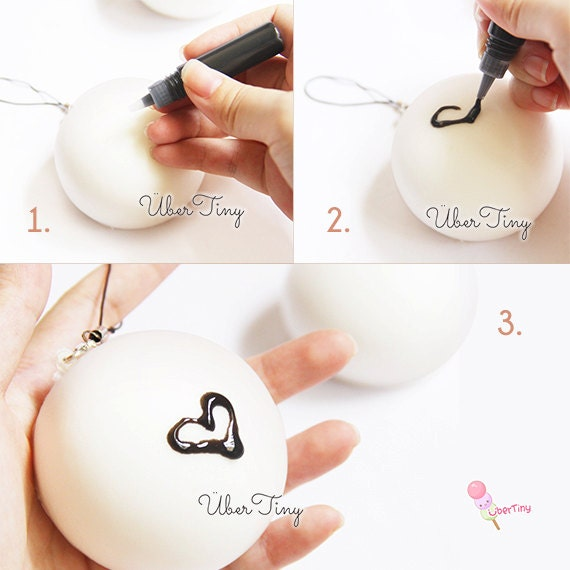 Squishy Bun Diy : Items similar to Soft Plain DIY Squishy Steam Bun on Etsy