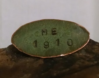 Maine State House Copper Small Oval Pin Limited Edition RM