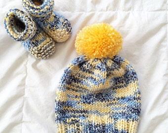 Baby Boy Knit Set