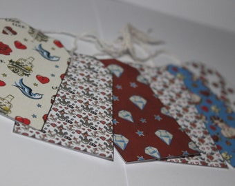 Large Gift Tags x6- Choose your design