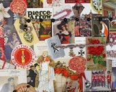 Celebrate*Christmas Inspiration Kit*Vintage Ephemera Pack