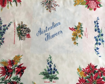 Vintage tablecloth from Australia