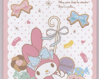 Sets of 4 Sanrio Original My Melody Envelopes with 4 stickers (775525) Buy other Items together for BETTER price.