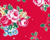 Lecien Flower Sugar Holiday 31327 20 - Fat Quarter - Rose Cluster - Christmas Fabric - Japanese