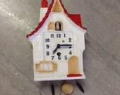 Antique Lux miniature cuckoo clock