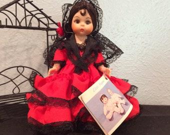 Madame Alexander Spain International Doll