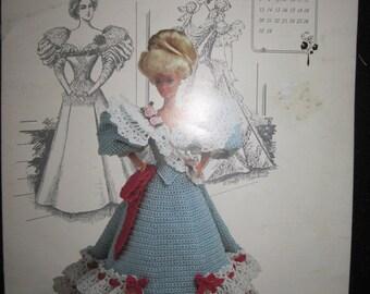 Miss February 1994 Gay Nineties Crochet Doll Dress Pattern