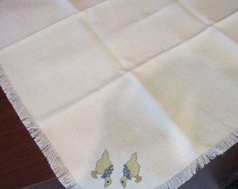 Pair of Geese Bread Cloth