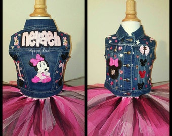 Bling, 1st Birthday Minnie Outfit, Minnie Tutu Outfit, 1st, 2nd Tutu Outfit, Minnie 1st Birthday, Minnie Tutu, 1st Birthday Minnie Mouse