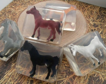 Horse Soap favors / Equine soap / Pony Soap party favors