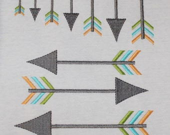 Arrow 4 Add on Machine Embroidery Design