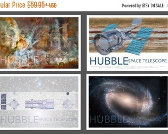 30% OFF WOW NASA Space Hubble Telescope Poster Set Collection, Set of 4