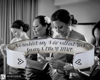 Bridesmaid Gift | Maid of Honor | Maid of Honor Gift | Bridesmaid | Bridesmaid Gifts | Will you be my | We couldn't say I do | Korena Loves