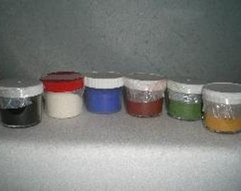 Natural Earth Paint, 6 available colors
