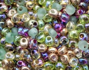 4mm Miyuki Earthtone Magatama Drop Bead Mix - 18 grams - Miyuki Color Mix07 - Earth Tone Mix Magatama Beads - 1814