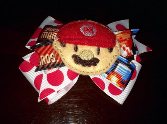 Super Mario Feltie Bow