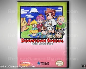 Downtown Special (NES Reproduction)