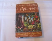 Vintage Classic, The Swiss Family Robinson, by Johann Wyss 1974