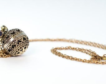 Ornate Chime Orb Pendant (JB-P-015)