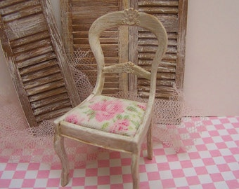Dollhouse Miniature Chair