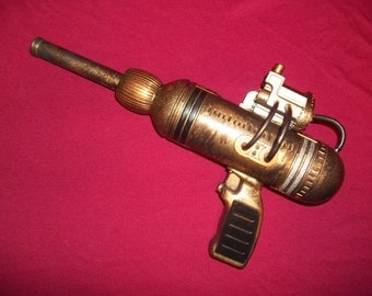 Steampunk Retro Ray Laser Gun Dieselpunk Custom Space Pistol - Number #235 - OOAK